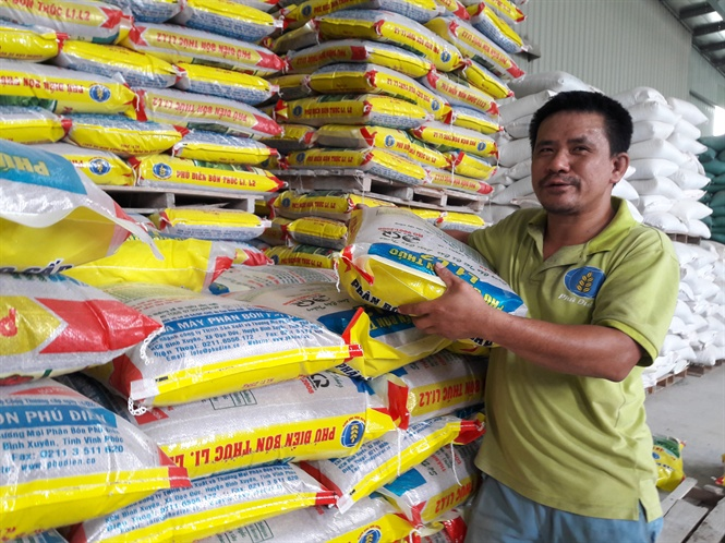 Phú Điền ra mắt hai sản phẩm phân hữu cơ