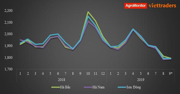 Thị trường phân bón (30/8-5/9/2019) giá ure thế giới đầu tháng 9/2019 tăng/giảm trái chiều tại các thị trường lớn